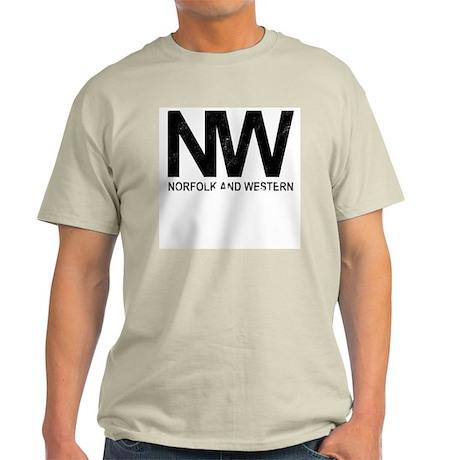 Norfolk & Western Vintage Light T-Shirt