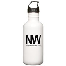 Norfolk & Western Vintage Water Bottle