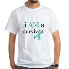 i AM a survivor (Teal) Shirt
