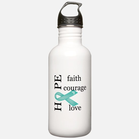 Ovarian Cancer Sports Water Bottle