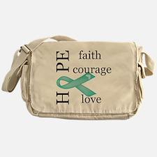 Ovarian Cancer Messenger Bag