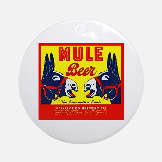Missouri Beer Label 1 Ornament (Round)