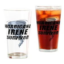 Hurricane Irene Survivor Drinking Glass