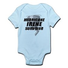 Hurricane Irene Survivor Infant Bodysuit