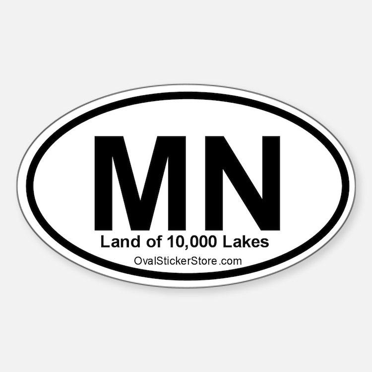 Minnesota Oval Decal