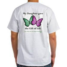 Daughter Gift Ash Grey T-Shirt