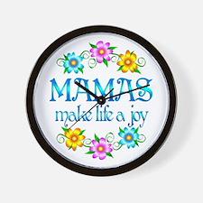 Mama Joy Wall Clock