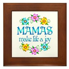 Mama Joy Framed Tile