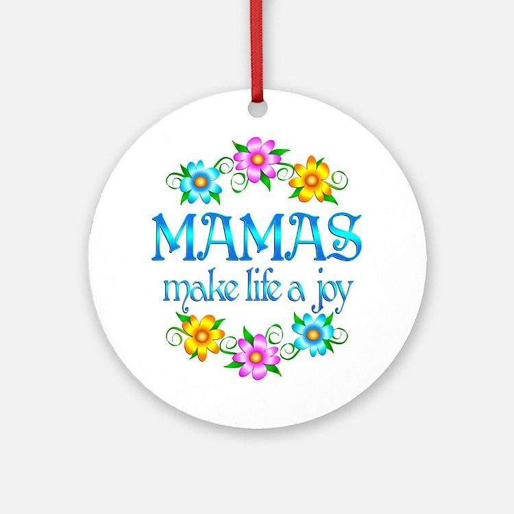 Mama Joy Ornament (Round)