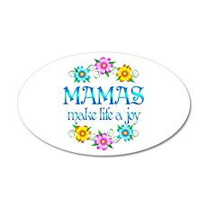 Mama Joy 22x14 Oval Wall Peel