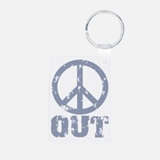 Peace Out Keychains