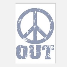Peace Out Postcards (Package of 8)