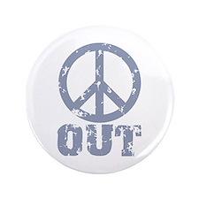 "Peace Out 3.5"" Button"