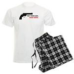 Guns Men's Light Pajamas