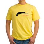 Guns Yellow T-Shirt