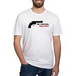 Guns Fitted T-Shirt