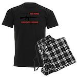 Guns Men's Dark Pajamas