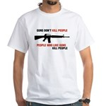 Guns White T-Shirt