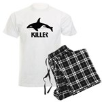 Killer Whale Men's Light Pajamas