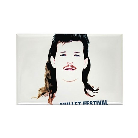 mullet festival Rectangle Magnet (10 pack)