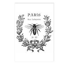 PARIS BEE Postcards (Package of 8)