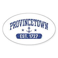 Provincetown Est. 1727 Decal