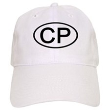 CP - Initial Oval Baseball Baseball Cap