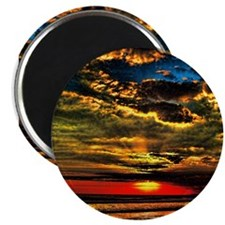 Painted Evening Sky Magnet