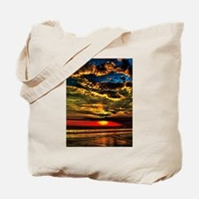 Painted Evening Sky Tote Bag