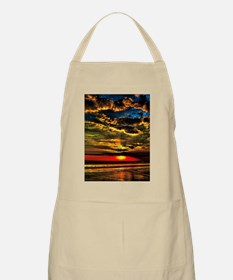Painted Evening Sky Apron