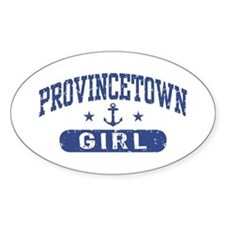 Provincetown Girl Decal