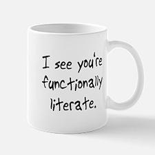 functionally literate Mug