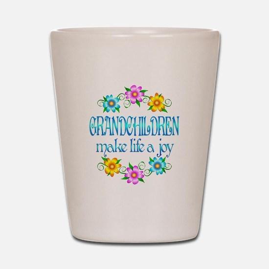 Grandchildren Joy Shot Glass