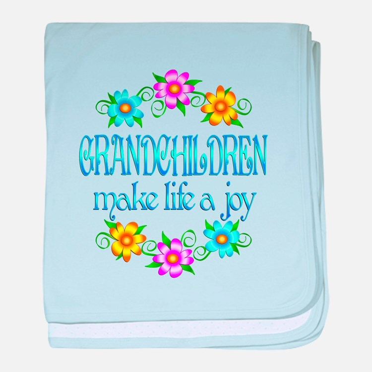 Grandchildren Joy baby blanket