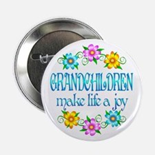 """Grandchildren Joy 2.25"""" Button"""