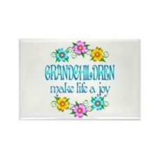 Grandchildren Joy Rectangle Magnet