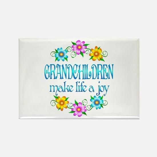 Grandchildren Joy Rectangle Magnet