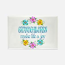 Grandchildren Joy Rectangle Magnet (10 pack)