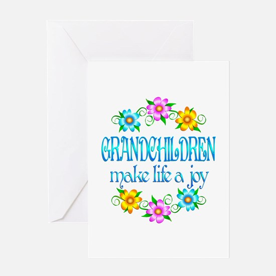 Grandchildren Joy Greeting Card