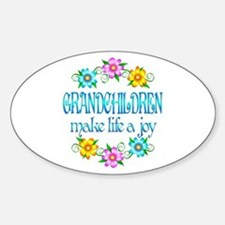 Grandchildren Joy Stickers