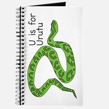 U is for Urutu Journal