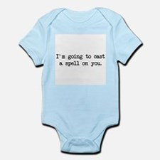 cast a spell on you Infant Bodysuit