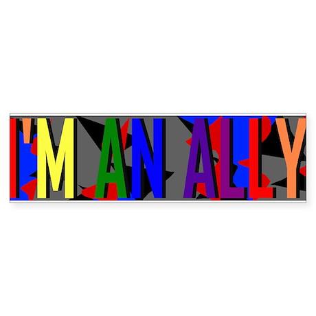 I'm an Ally Sticker (Bumper)