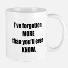 more than you know Mug