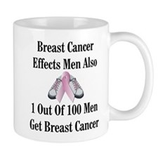 Male Breast Cancer Awareness Mug