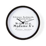 Madame X Wall Clock