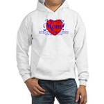I Love Mom! Hooded Sweatshirt