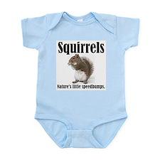 Squirrel Bumps Infant Bodysuit