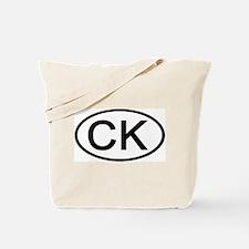 CK - Initial Oval Tote Bag
