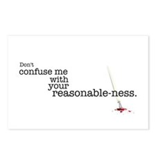 Reasonable-ness Postcards (Package of 8)